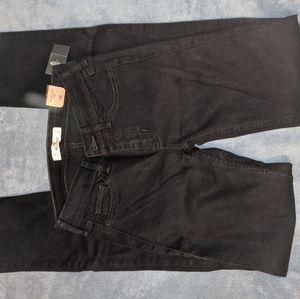 Hollister skinny black jeans size 0R